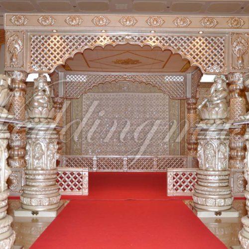 Rajasthani mandap Weddingmaster (4)