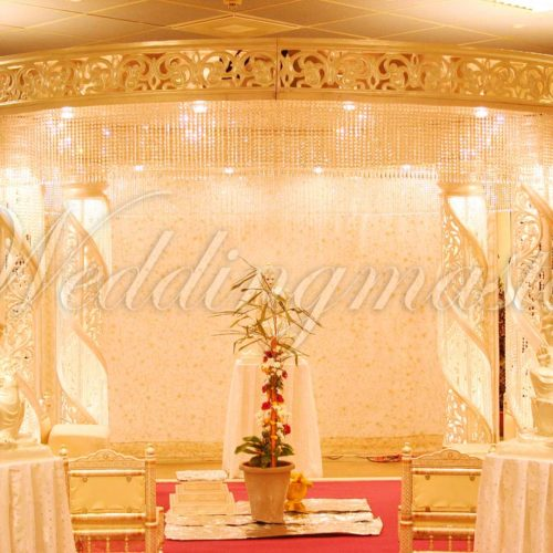 Weddingmaster Chrystal mandap (2)