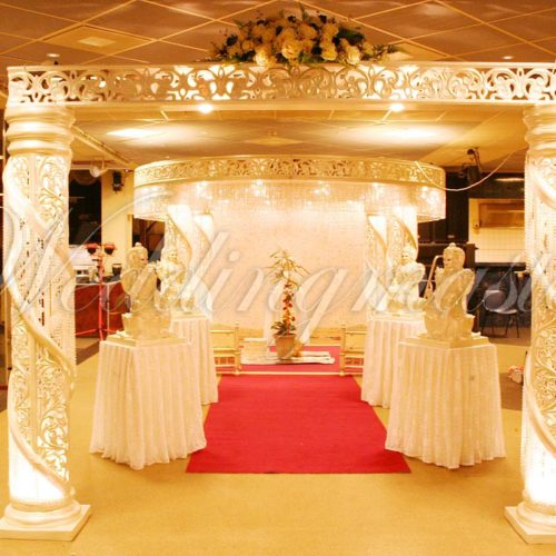 Weddingmaster Chrystal mandap (3)