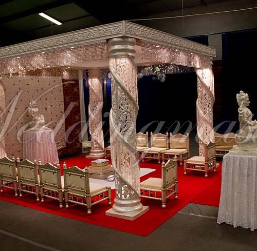 Weddingmaster Chrystal mandap (5)