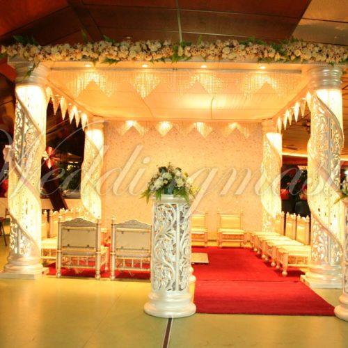Weddingmaster Chrystal mandap (6)
