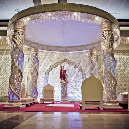 Weddingmaster Chrystal mandap (8)