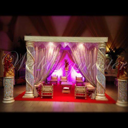 Weddingmaster Chrystal mandap (9)