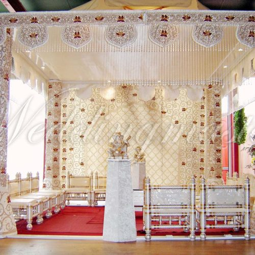 Weddingmaster Indian Silk Mandap (1)