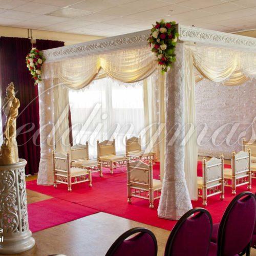 Weddingmaster Indian Silk Mandap (3)