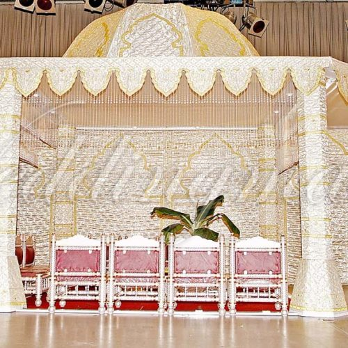 Weddingmaster Indian Silk Mandap (4)