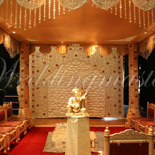 Weddingmaster Indian Silk Mandap (5)