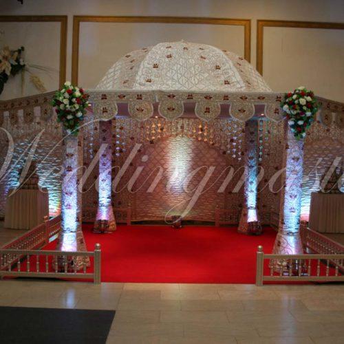 Weddingmaster Indian Silk Mandap (6)