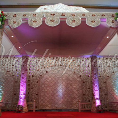 Weddingmaster Indian Silk Mandap (8)