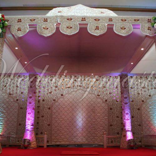 Weddingmaster Indian Silk Mandap (8)